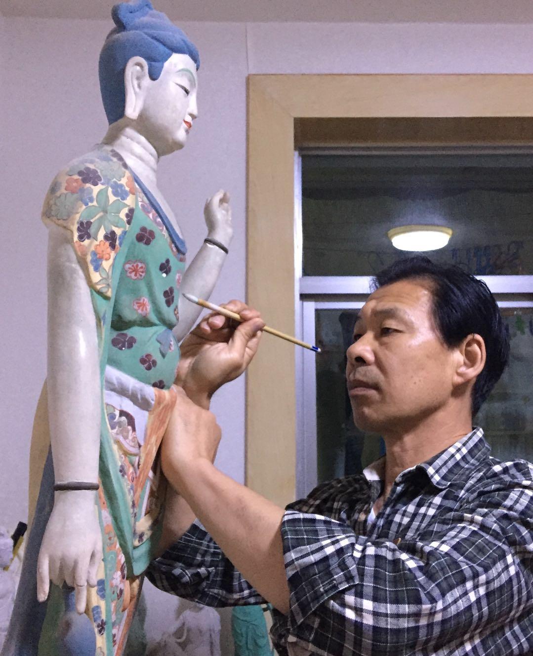 每日一匠|著名雕塑家孙靖