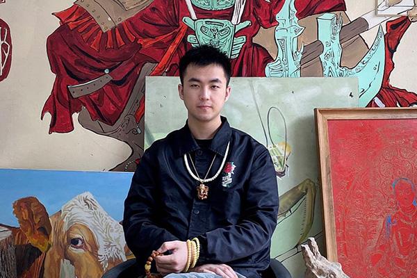 青年雕刻师——罗恒生(飘生)